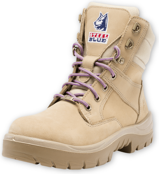 Southern Cross Zip Ladies: Nitrile Outsole Boot