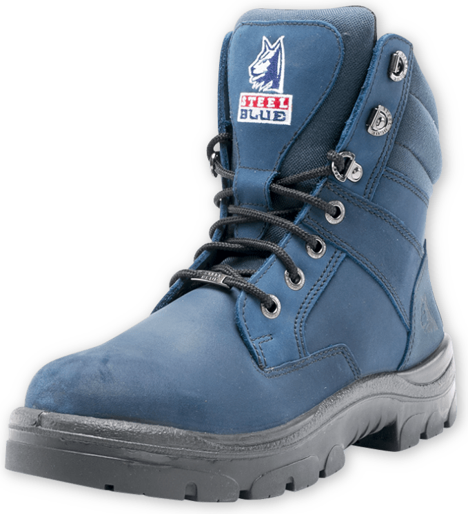 Southern Cross Zip Blue Boot