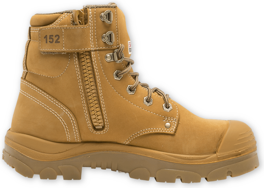 Argyle Zip: TPU / Bump Cap Boot