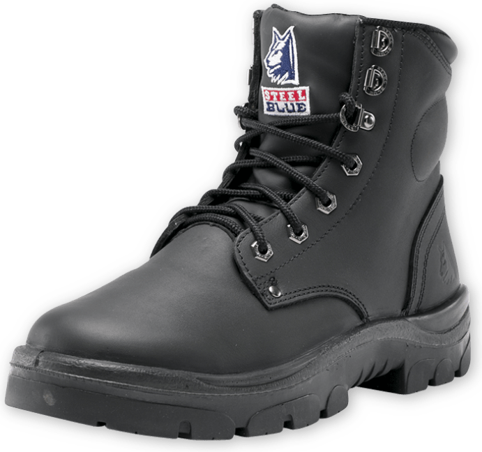 Argyle Zip: Non-Safety Boot