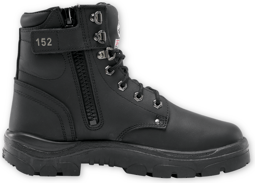 Argyle Zip: Nitrile Outsole Boot