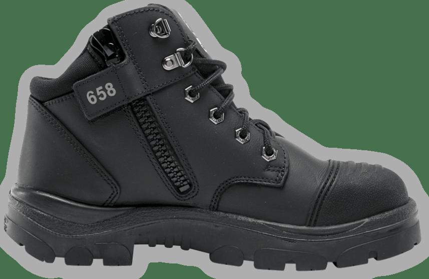 Parkes Zip: Scuff Cap Boot