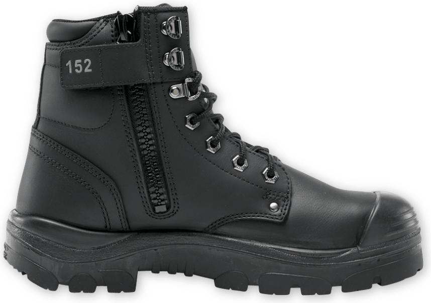 Argyle Zip: Nitrile/Bump Cap Boot