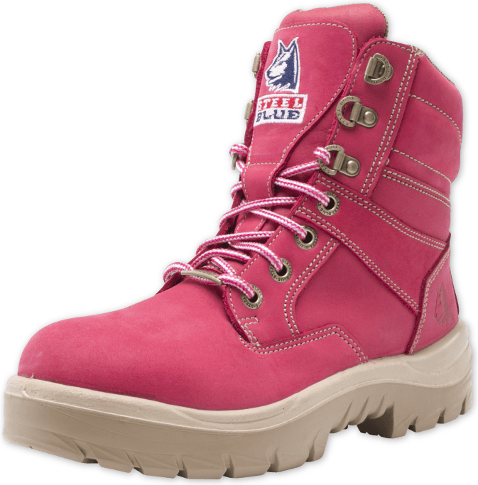 Southern Cross Ladies Pink Work Boots  9ef772779f