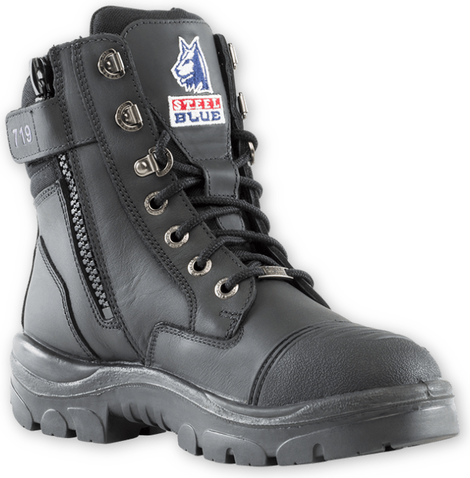 Southern Cross® Zip Scuff Ladies Boot