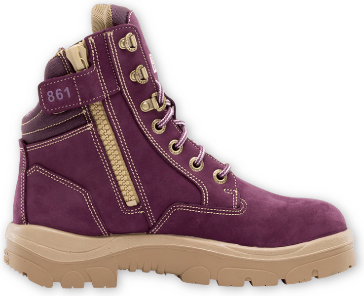 Southern Cross Zip Ladies: PR Midsole Boot