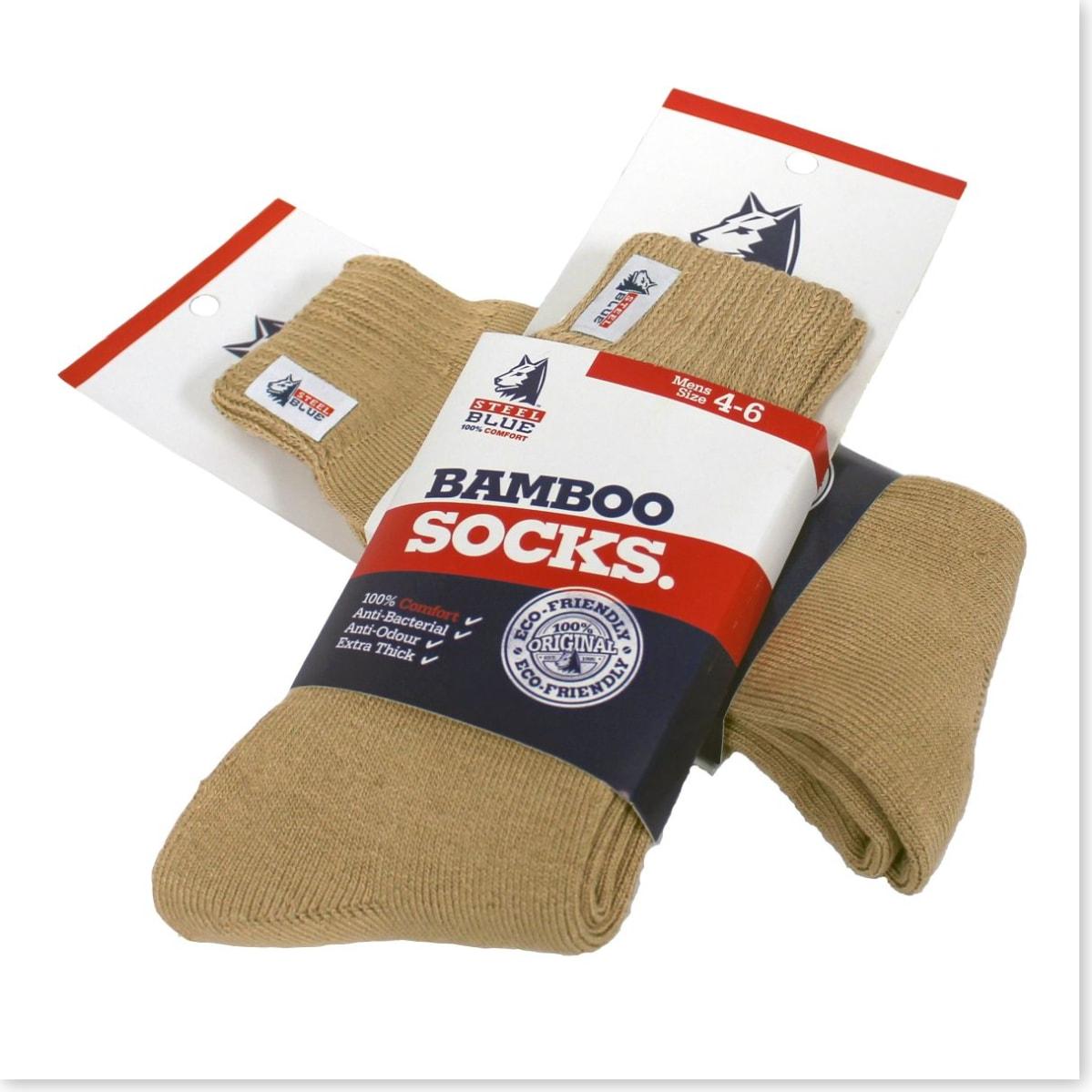 Bamboo Socks - Sand Boot