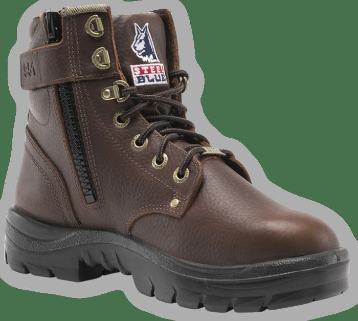 Argyle Zip: Soft Toe Boot