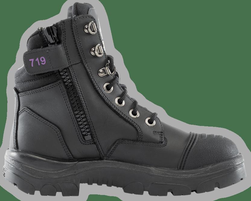 Southern Cross® Zip Scuff Ladies Boot