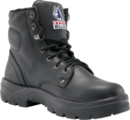 733d52af939e Comfortable and durable work boots from Steel Blue. Argyle - Black