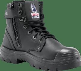 Argyle Zip: TPU / Bump Cap - Black