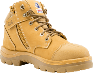 Parkes Zip: Scuff Cap - Wheat