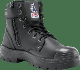 Argyle® Zip: Nitrile / Bump Cap - Black
