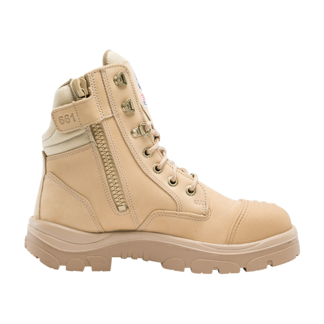 velcro fastening safety boots