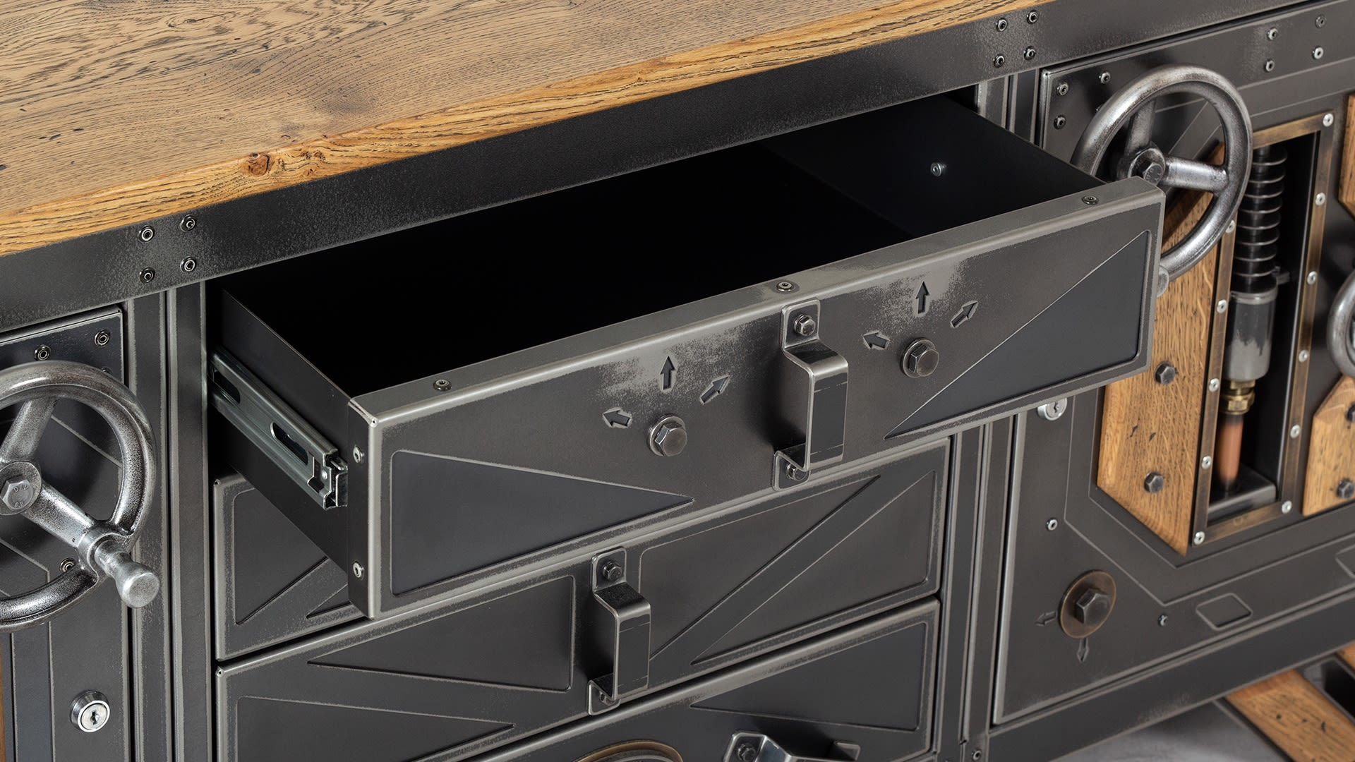 The Steampunk Sideboard 004
