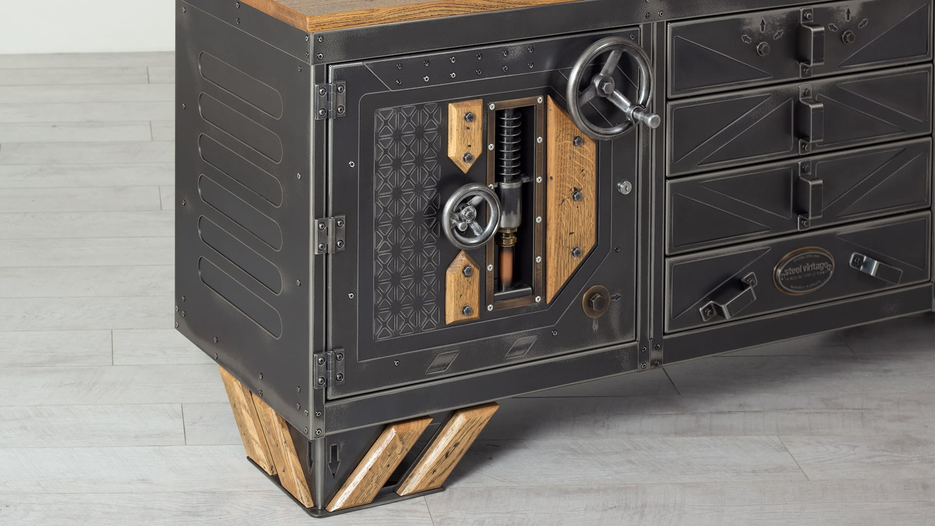 The Steampunk Sideboard 002