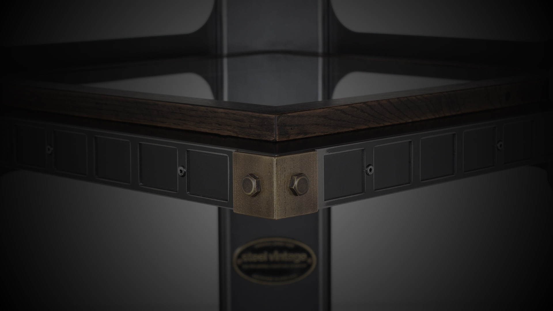 SV Brunel display cabinet closeup darkened