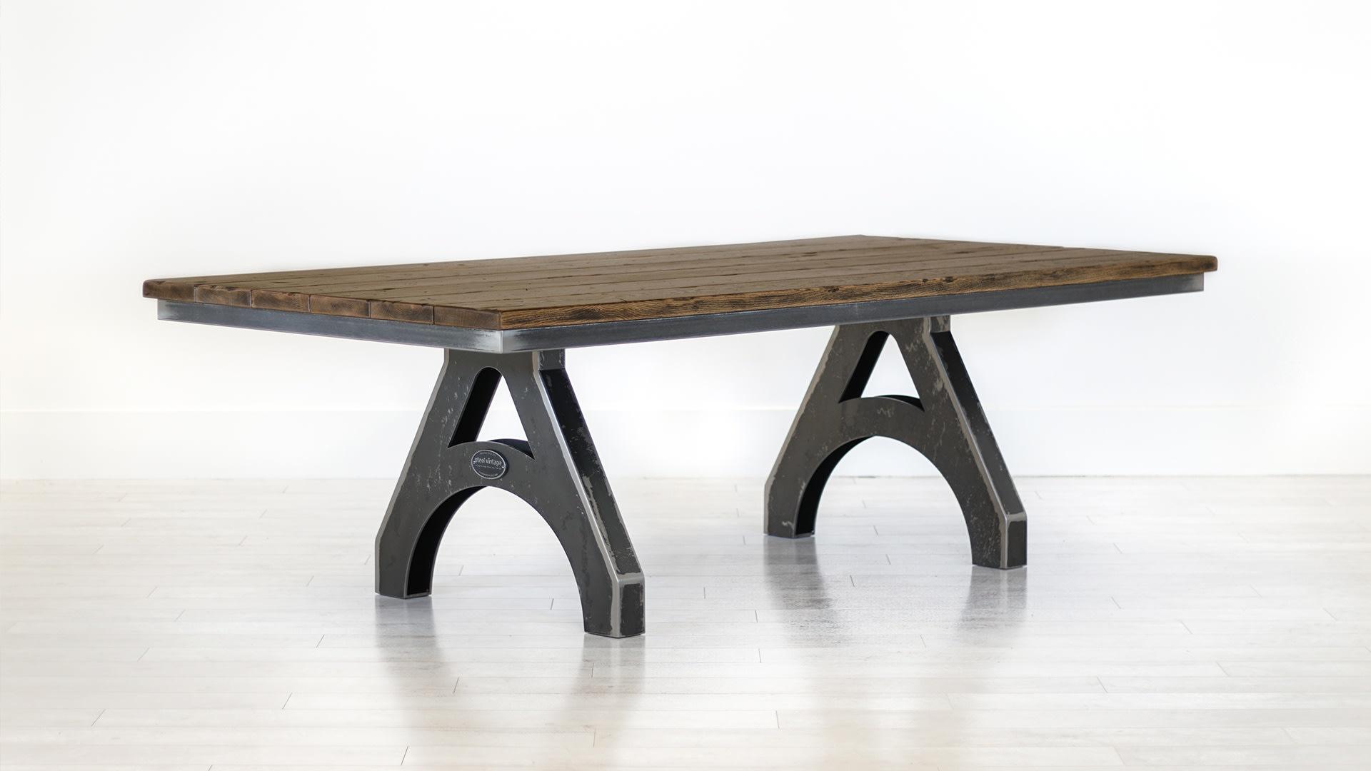 Steel Vintage wordsmith table