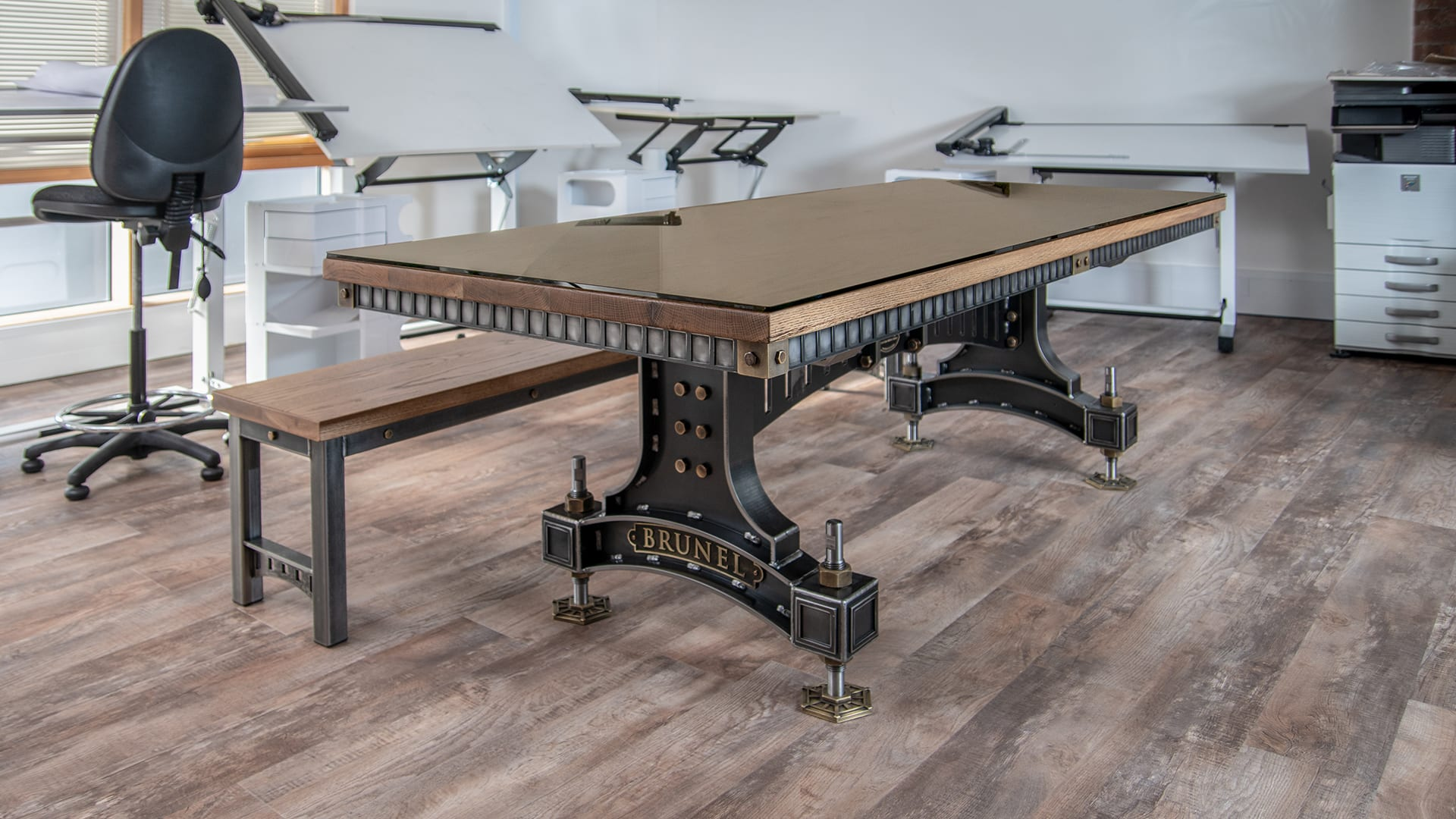 Steel Vintage - Brunel Table - Industrial Furniture