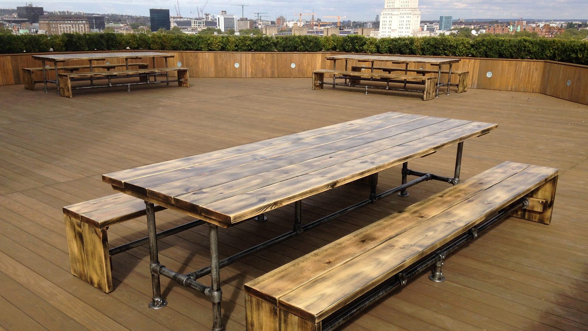 Steel Vintage Testimonial - Bluu Construction Table