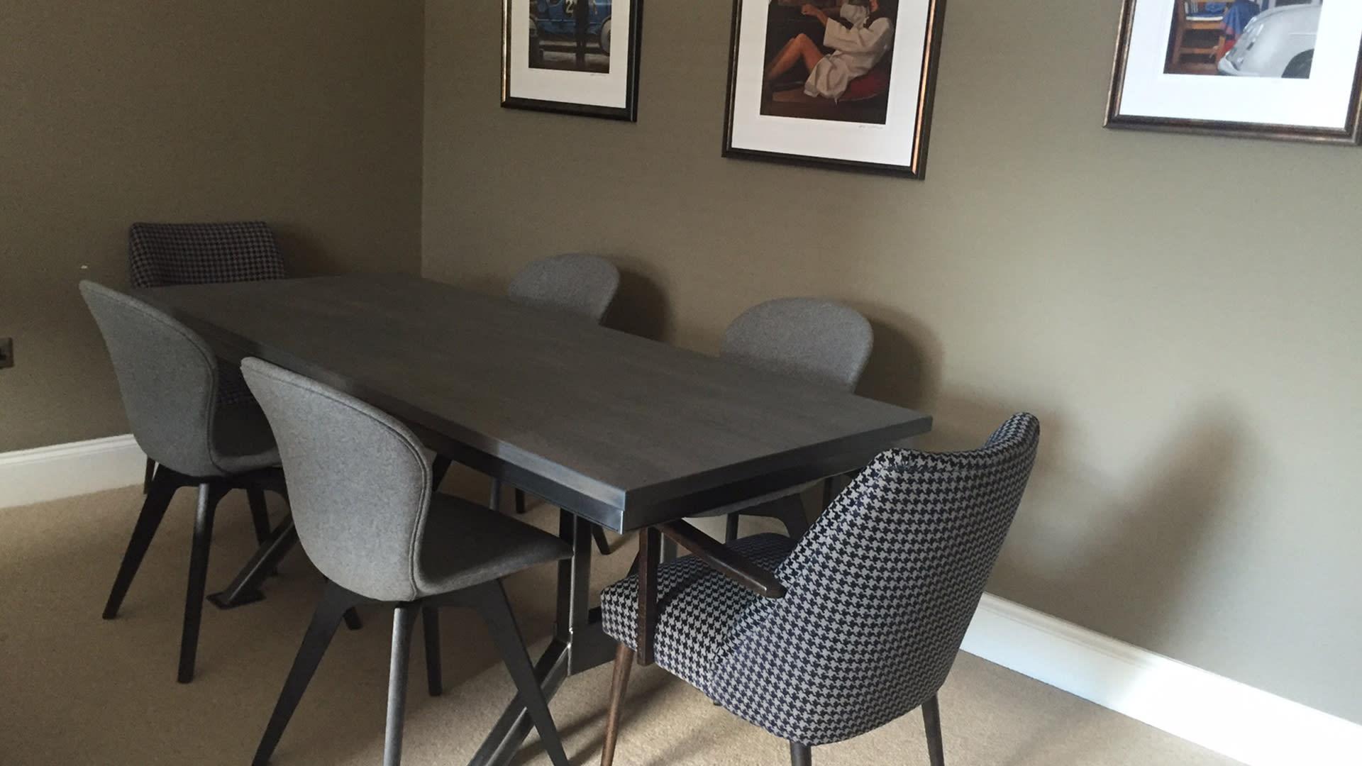 Steel Vintage Testimonial - Lauren Officers Table