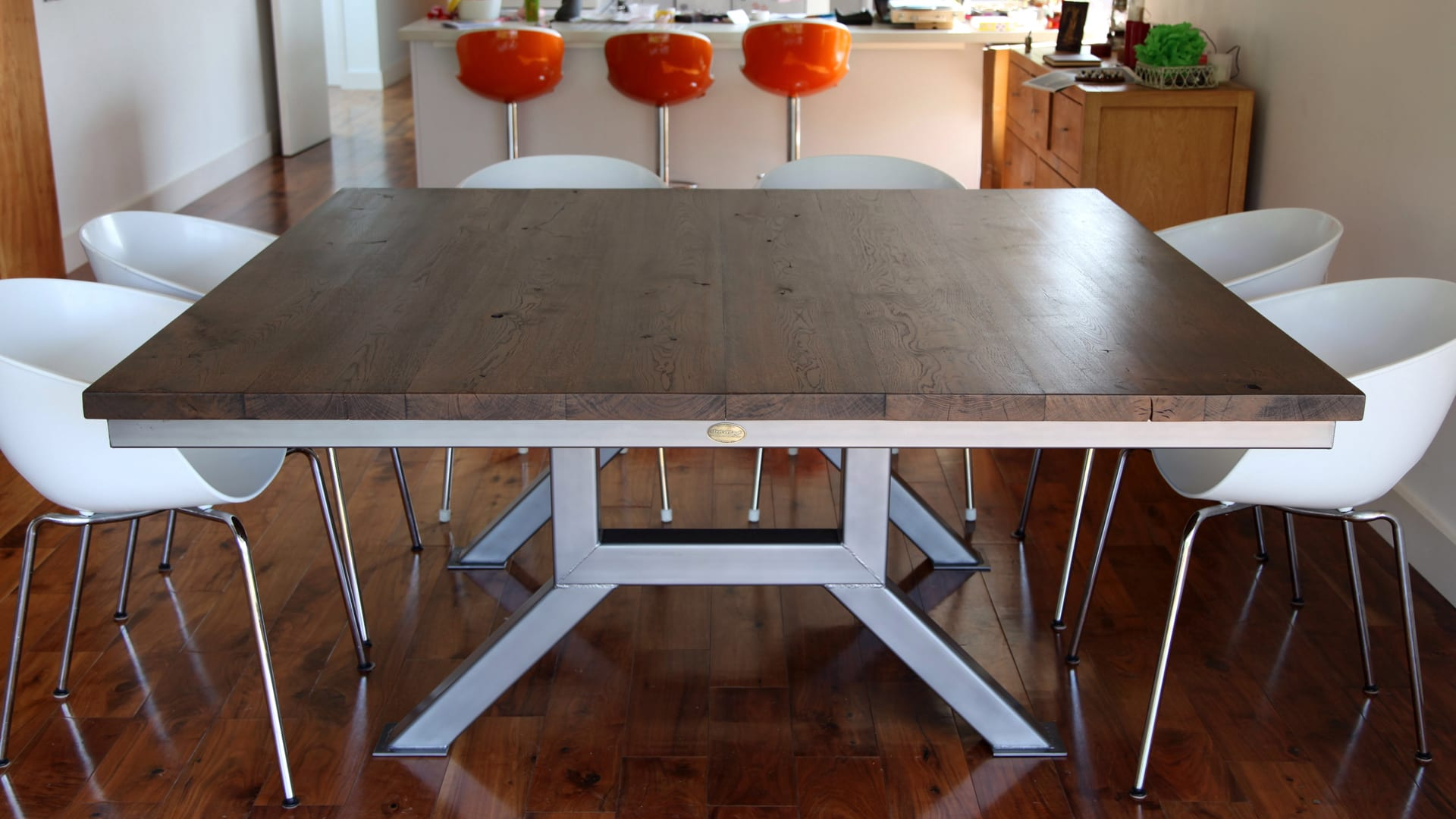 Steel Vintage Testimonial - Charlotte Engineering table
