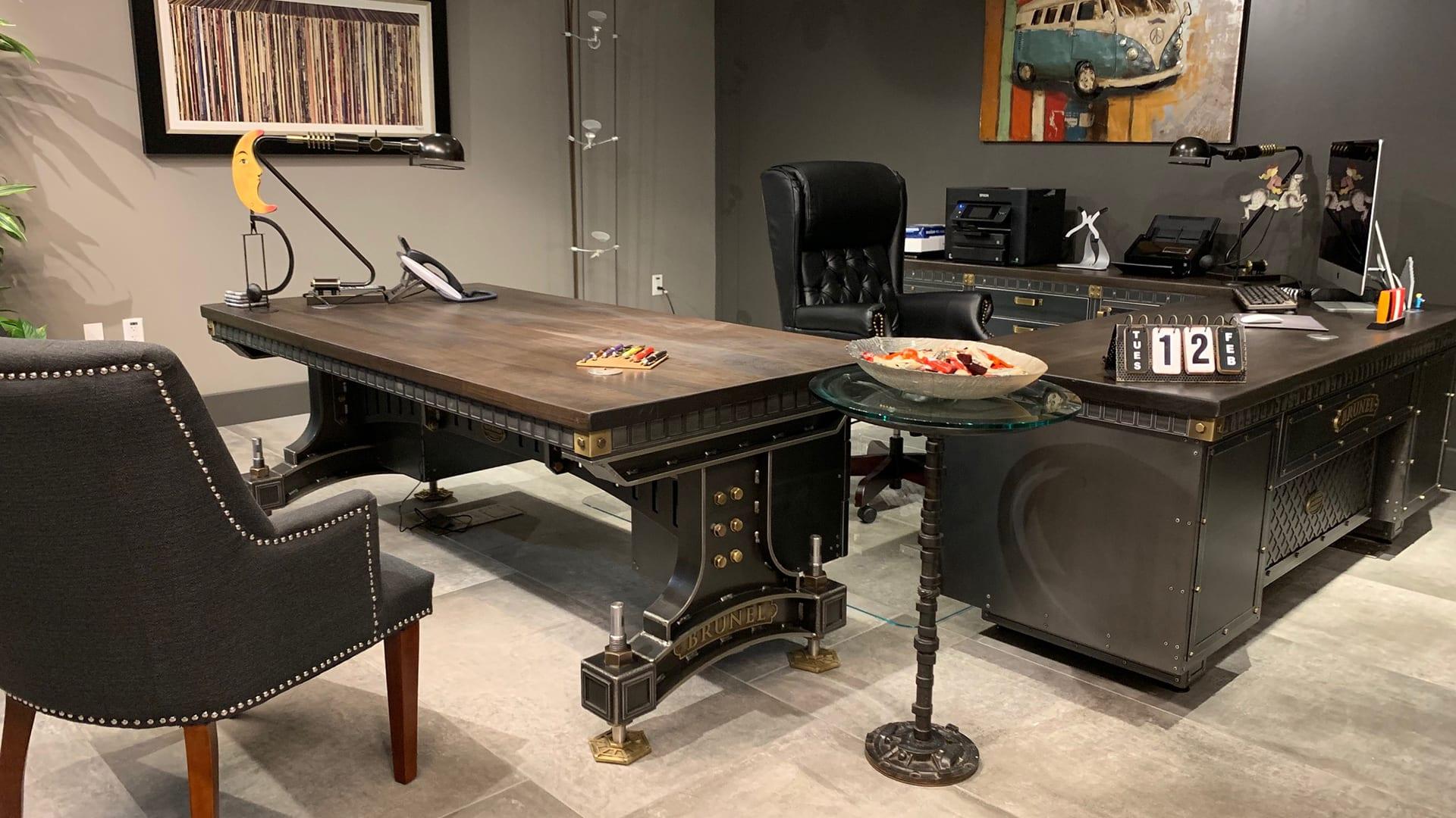 Steel Vintage   Case Study - Planet 13   Industrial Office Furniture