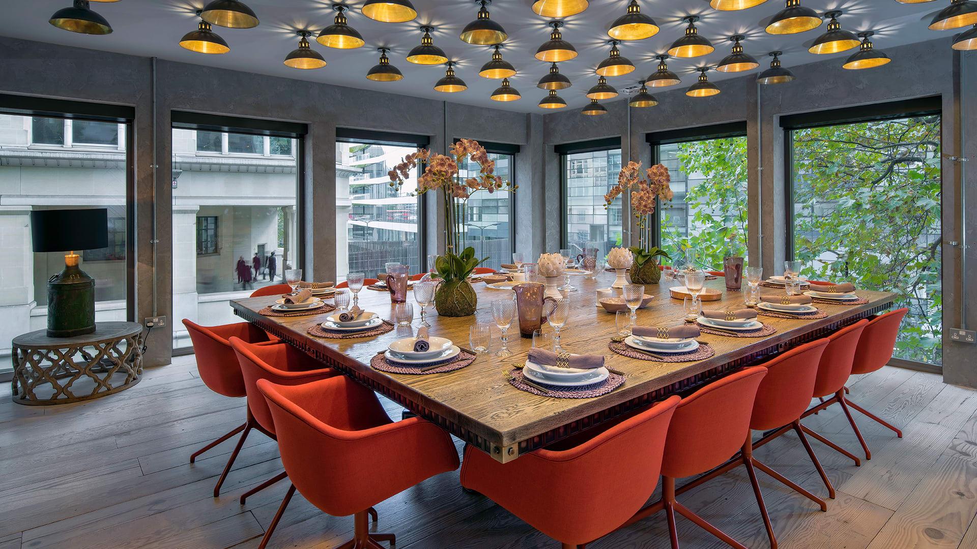 Steel VIntage   Case Study - Ocubis   Industrial Boardroom Tables