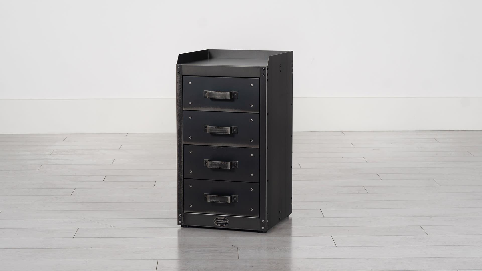 Steel Vintage drawer unit
