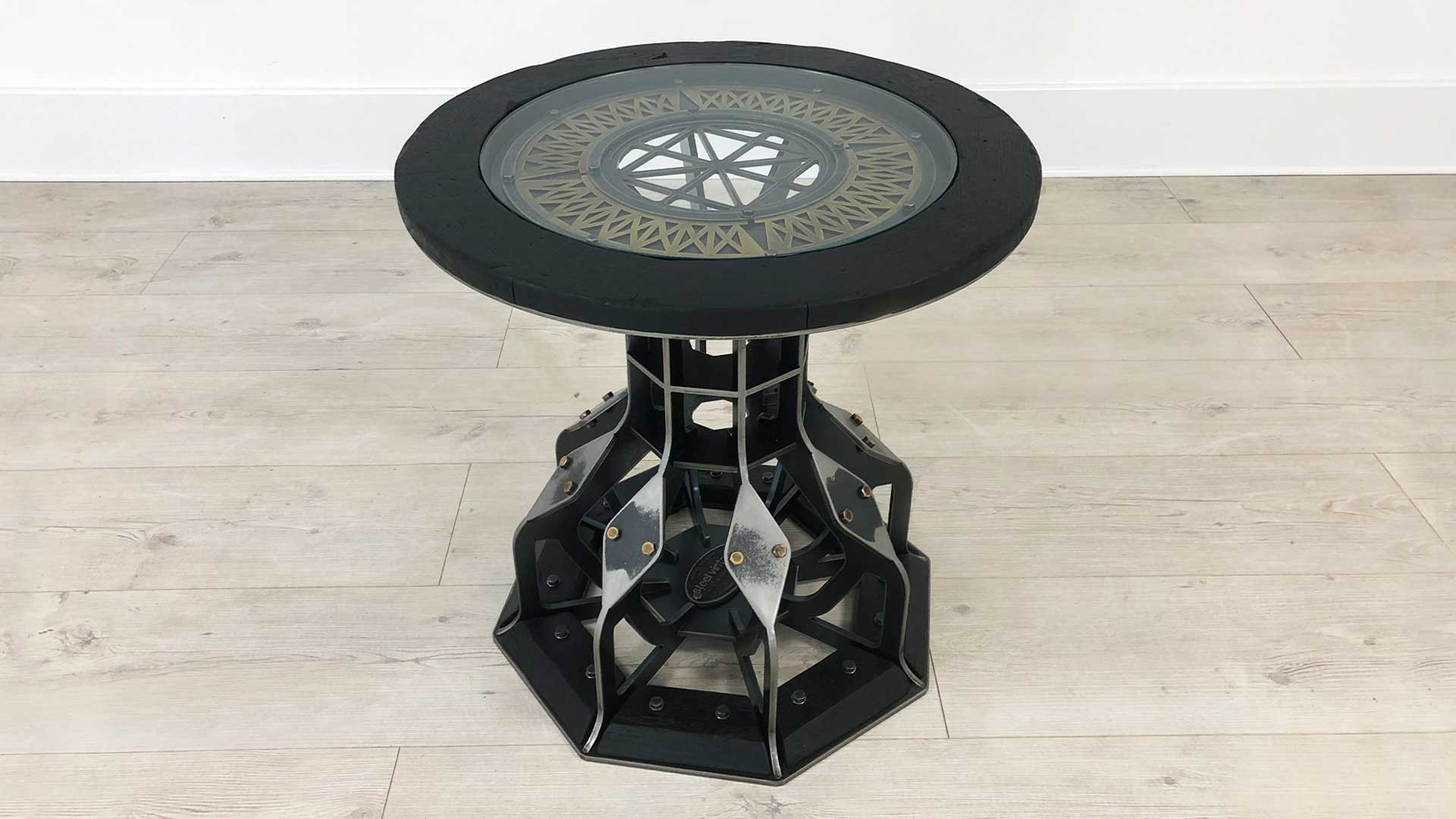 SV STEAMPUNK SIDE TABLE