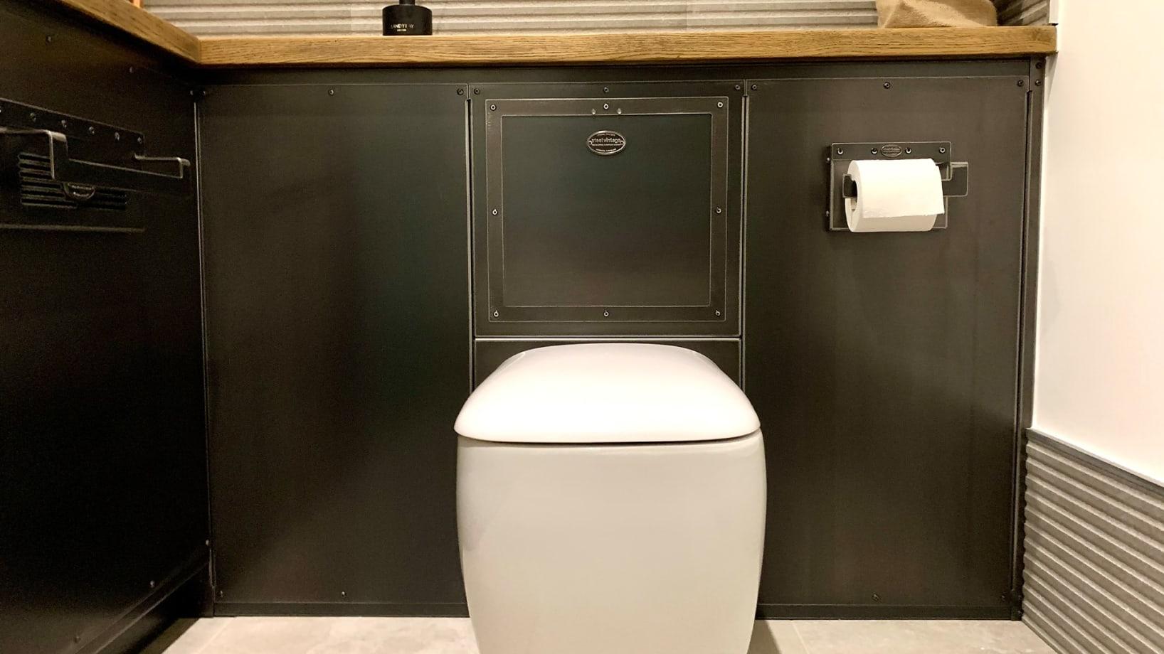 Steel Vintage Workshop Bathroom