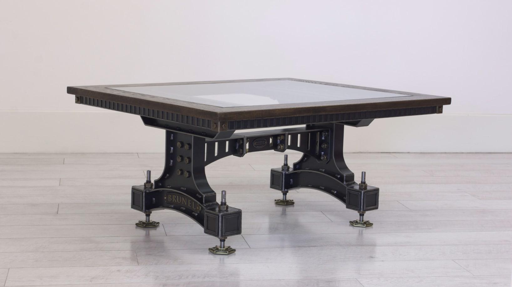 Steel Vintage Brunel Coffee Table V2