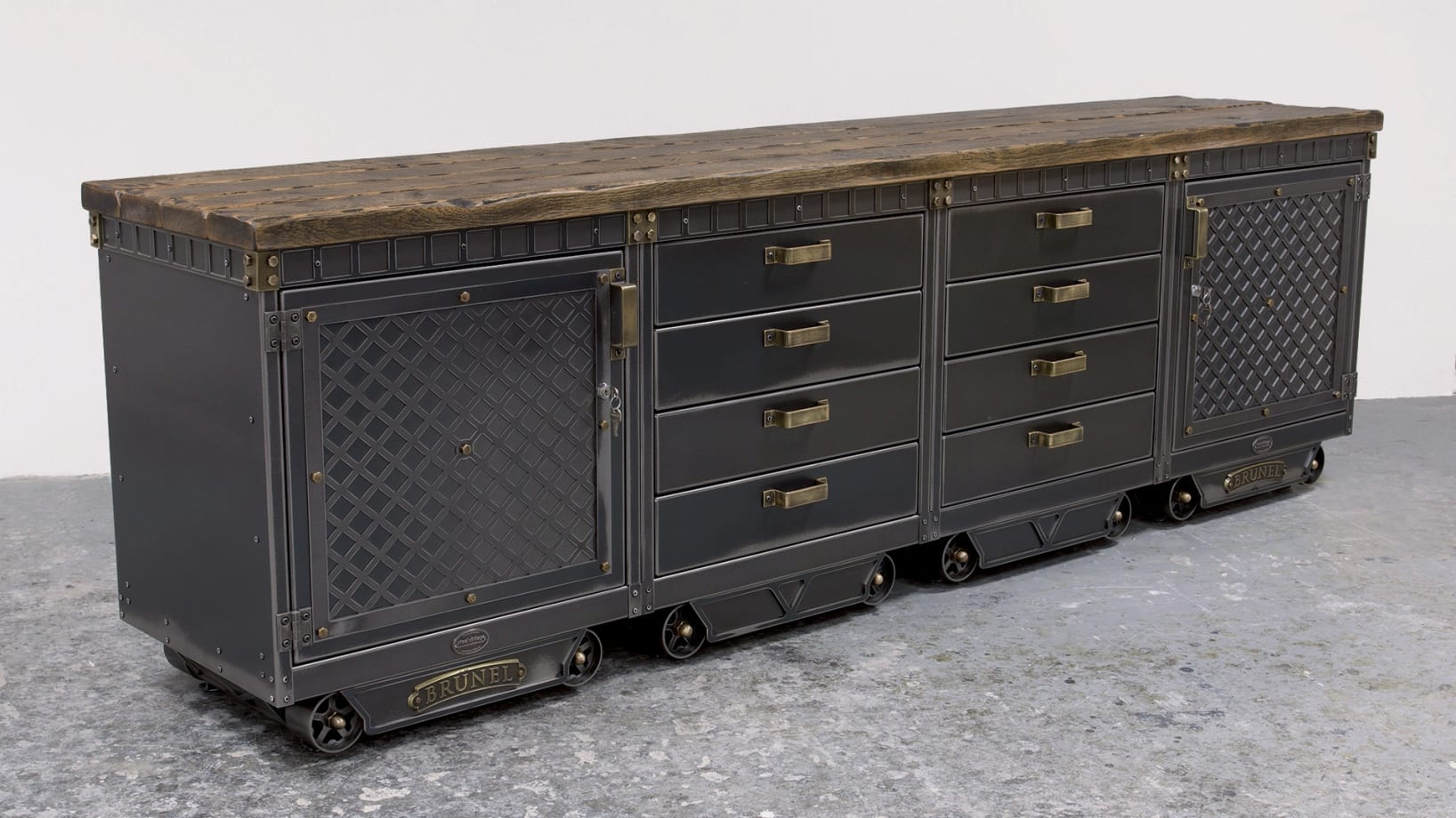Steel Vintage Sideboard V4