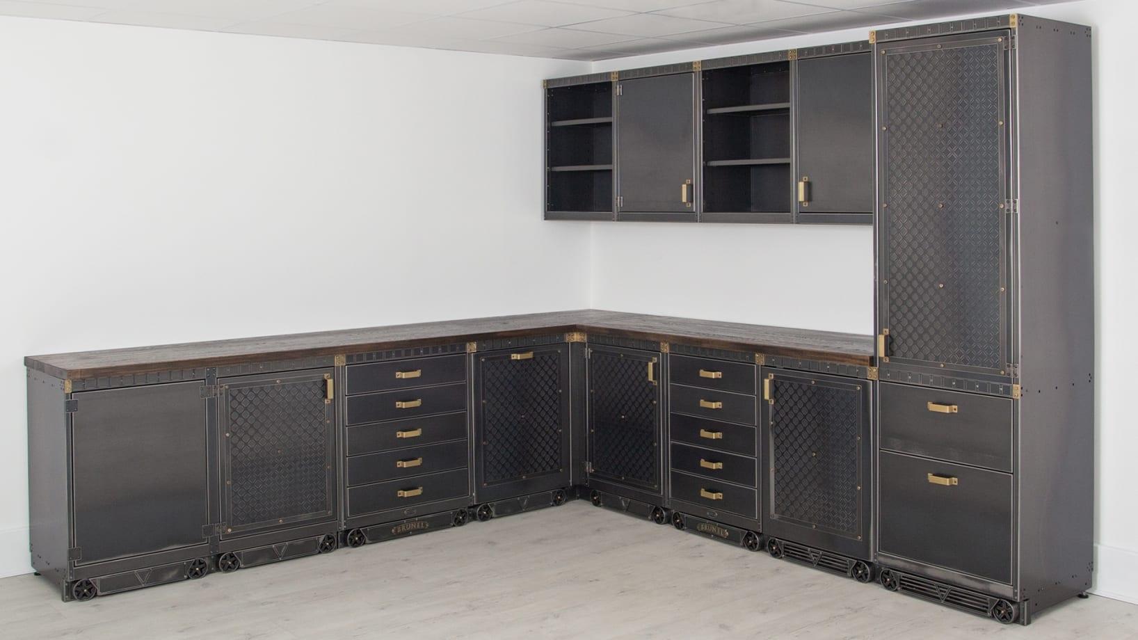 Steel Vintage Brunel Kitchen