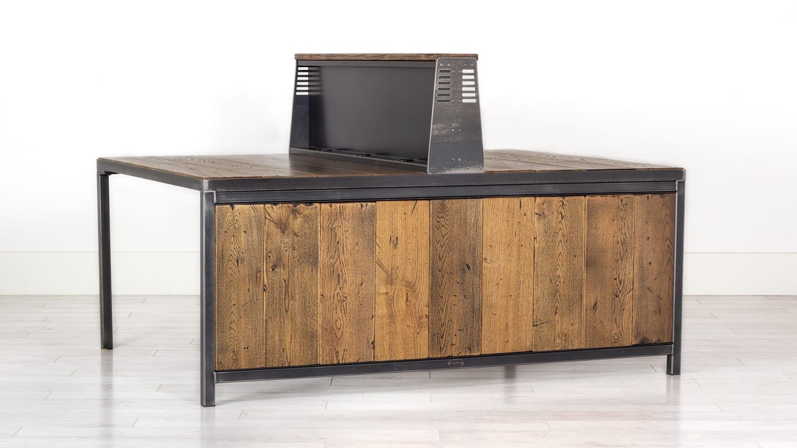 Steel Vintage admirals modular desk