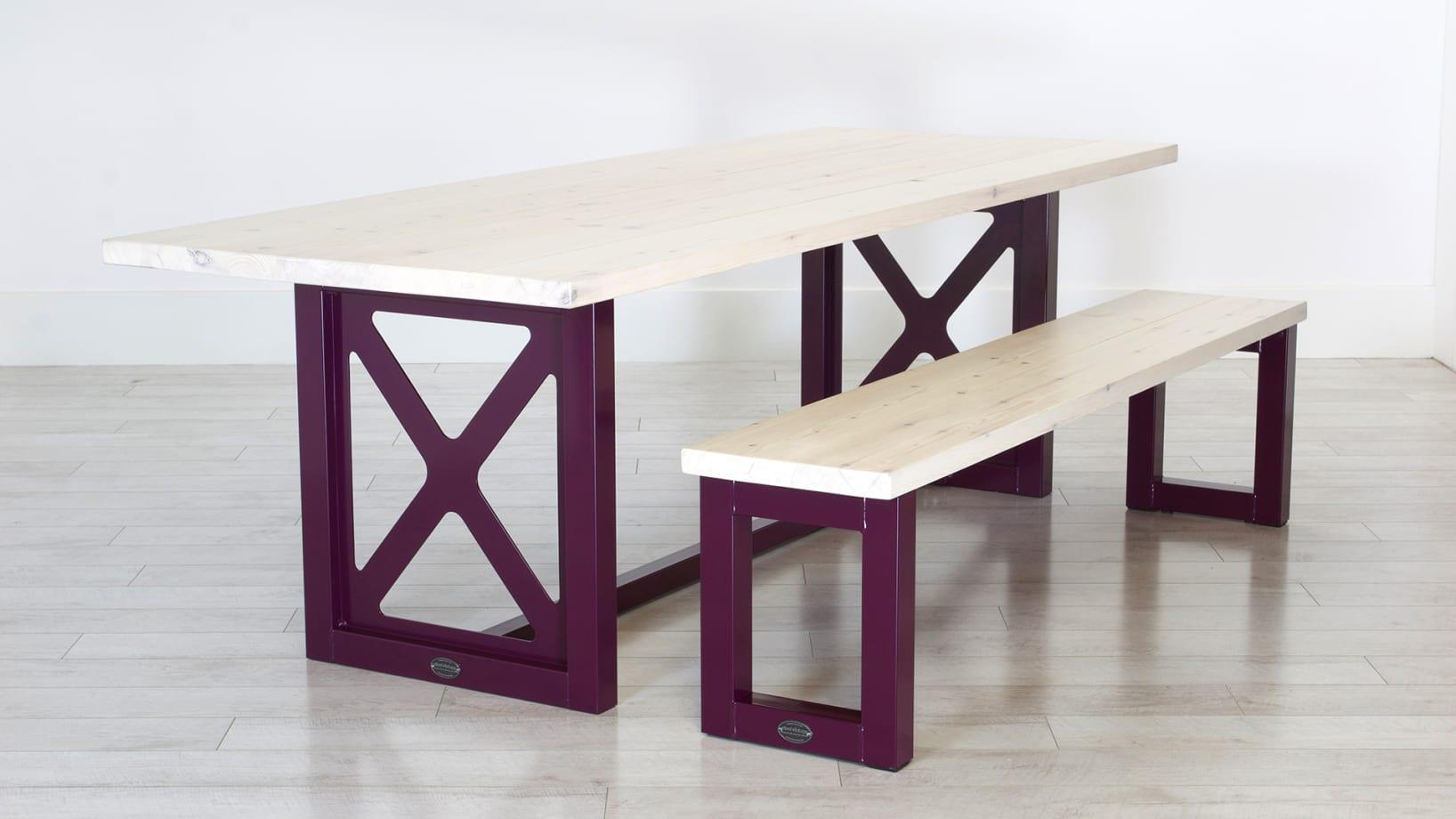 SV-PURPLE-TABLE+BENCH-PINE-DARK