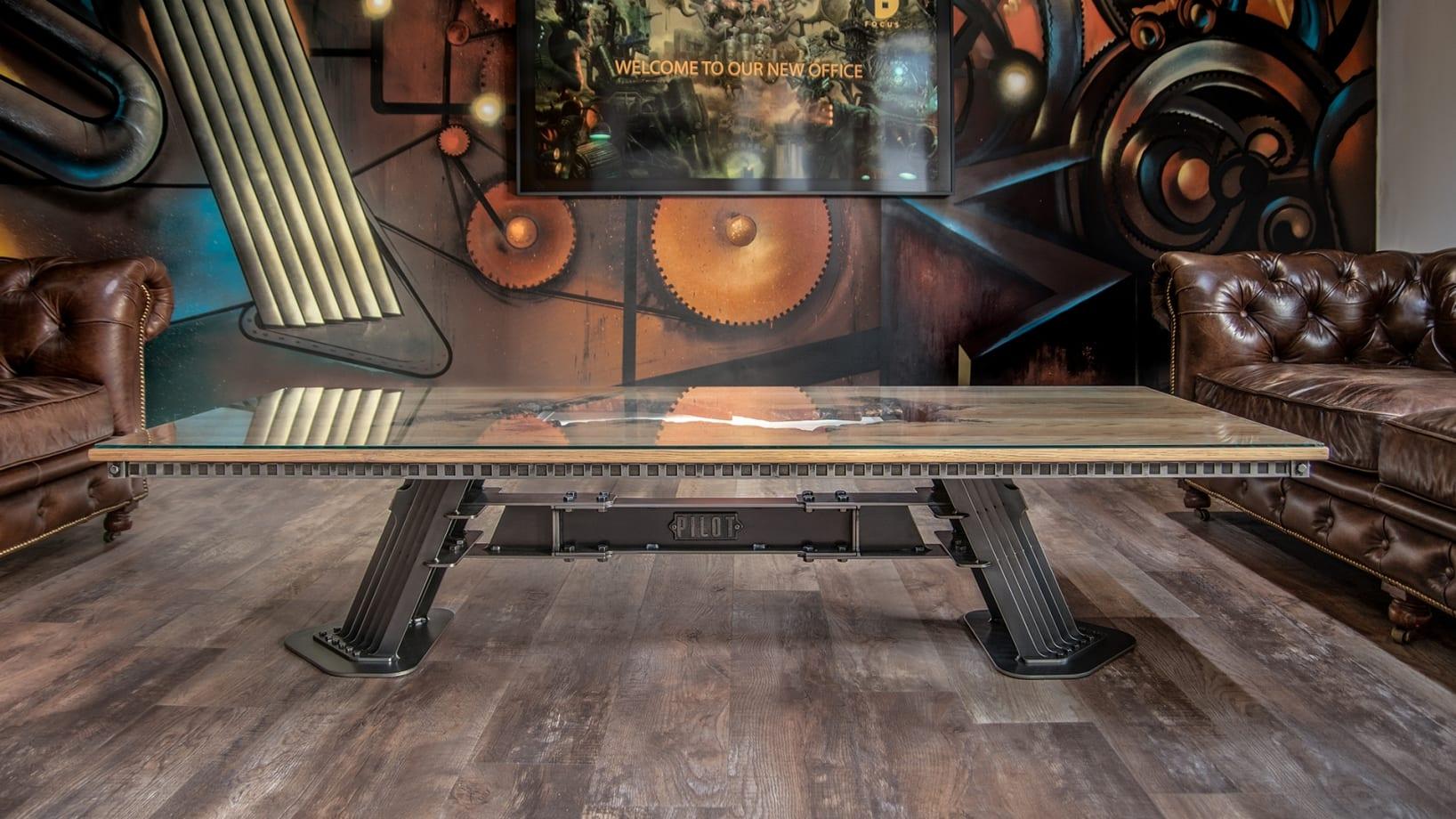 Steel Vintage - Pilot Coffee Table - Industrial Furniture
