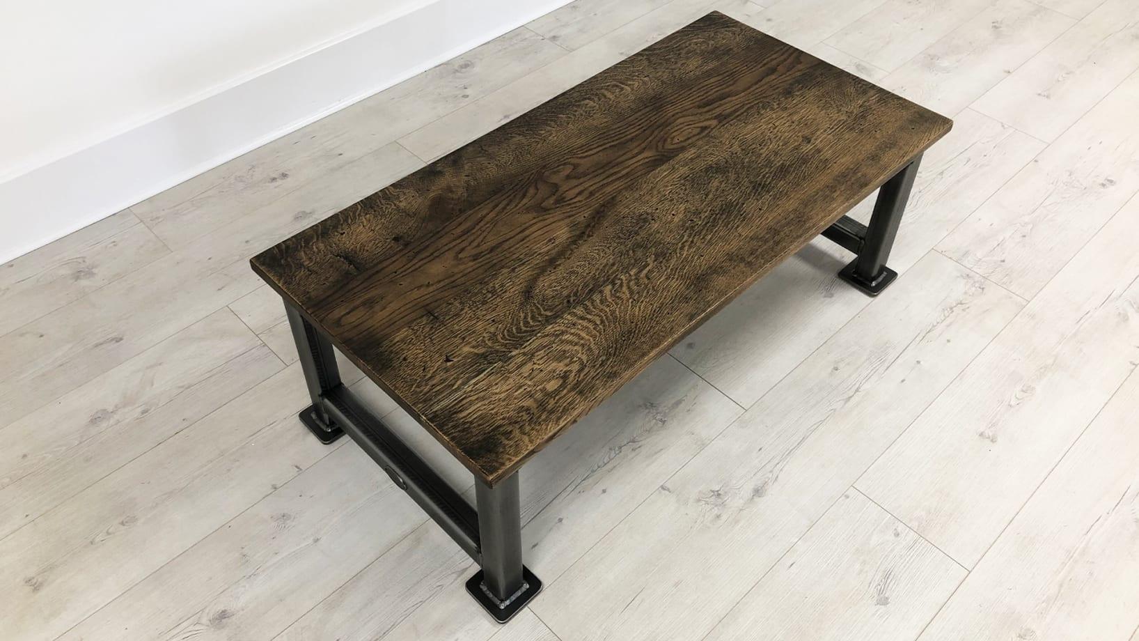 Steel Vintage artisan coffee table