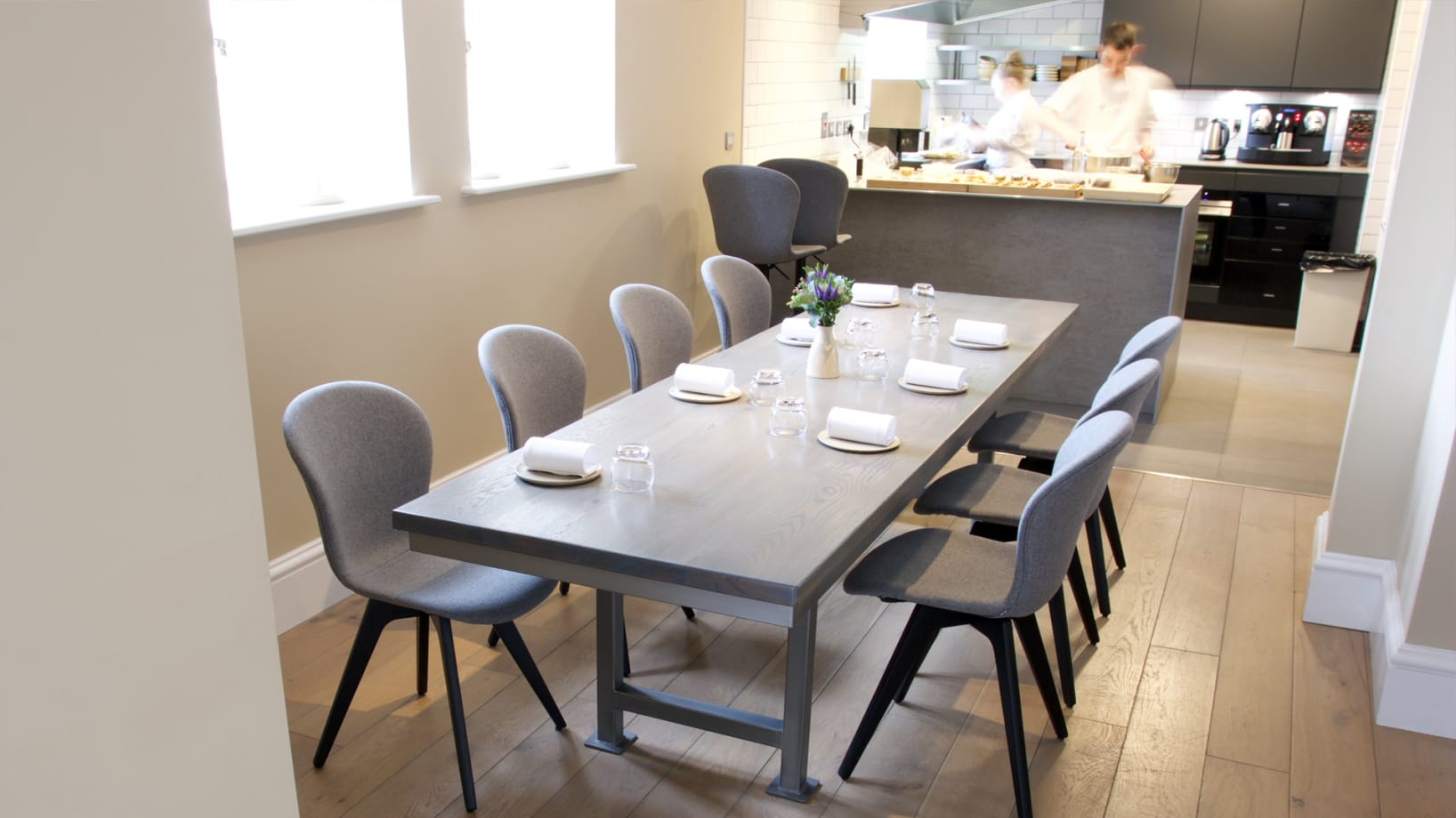 Steel Vintage | Case Study - Casamia | Industrial Dining tables