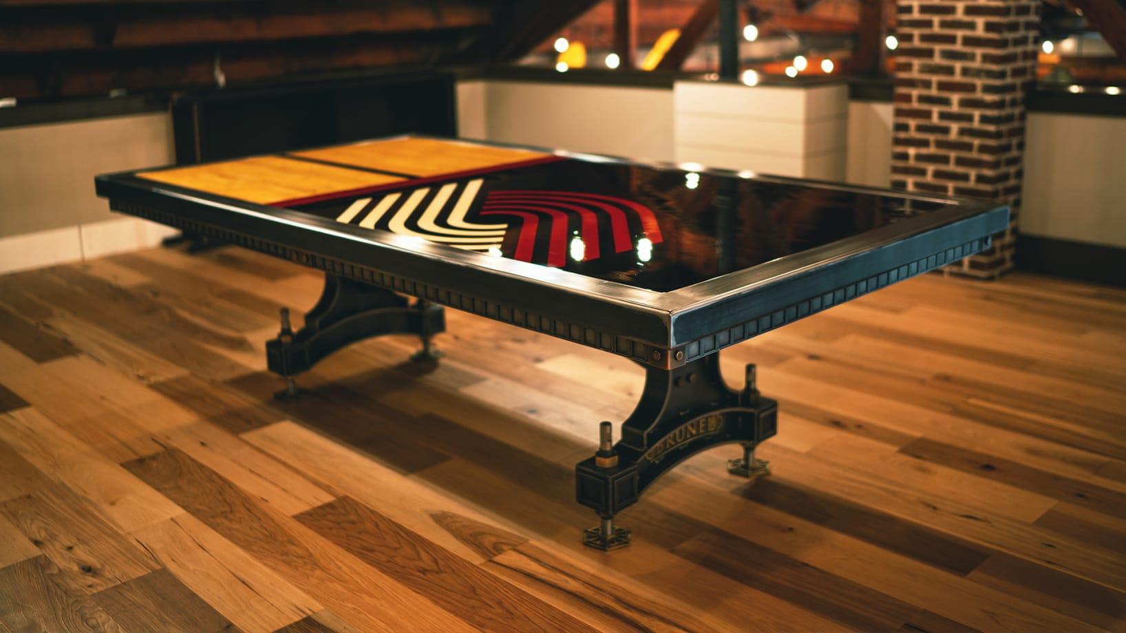 Steel Vintage | Case Study - FIRE Bespoke Brunel Table
