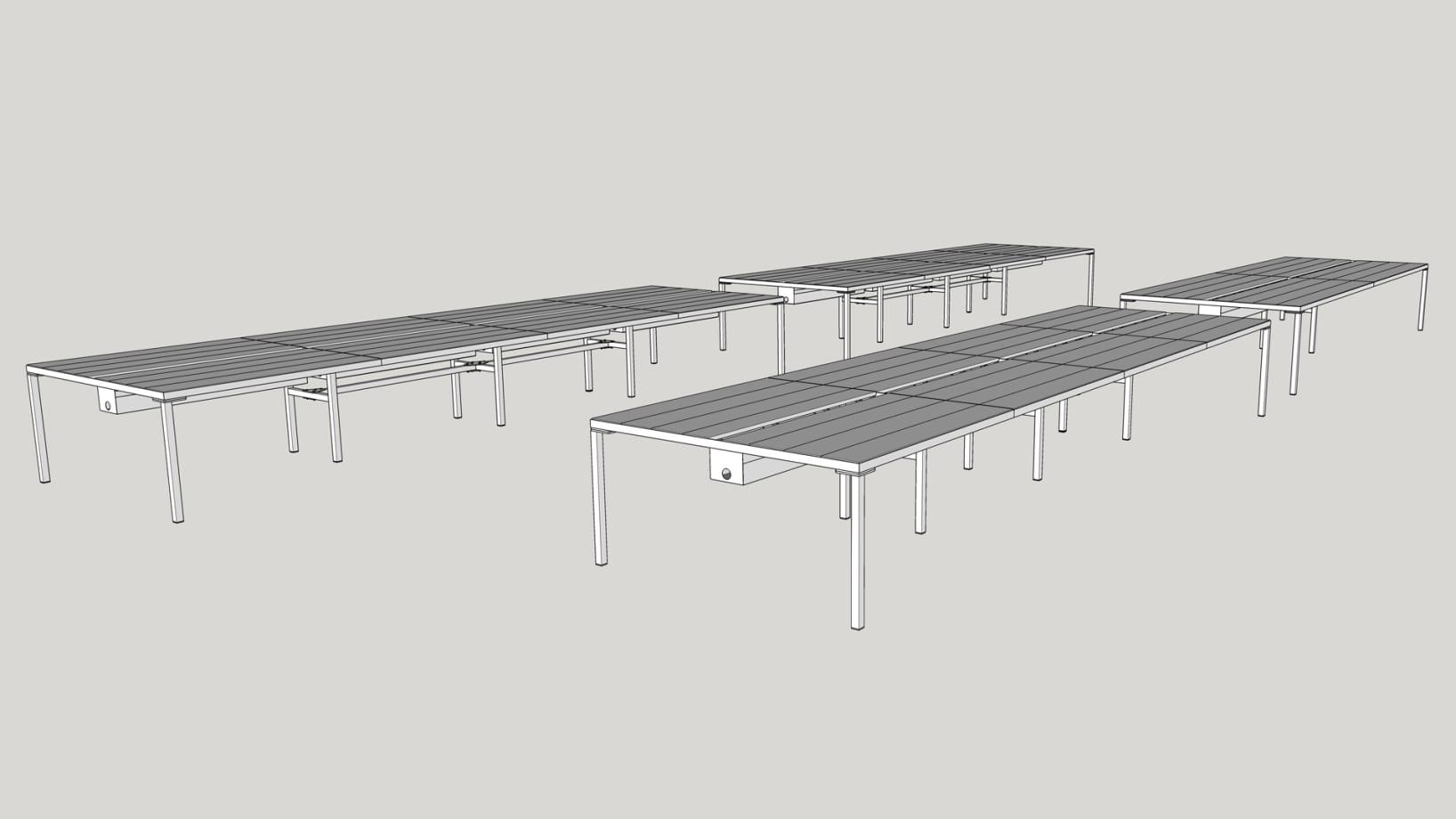 Steel Vintage   Case Study - Jamie Oliver   Modular Workshop Desks   UK