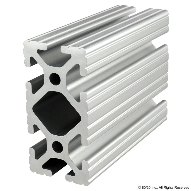 "1.50"" X 3.00"" T-Slotted Profile - Six Open T-Slots #1530"