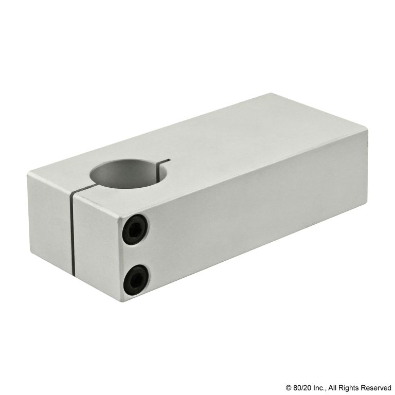 Single Shaft Blank Stanchion Mounting Plate