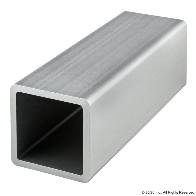 "1.50"" X 1.50"" Square Tube Profile - No Pre-Drilled Holes #9700"