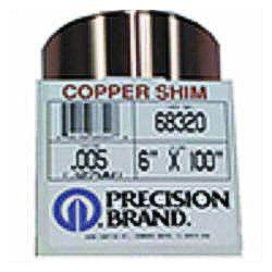 Copper Shims