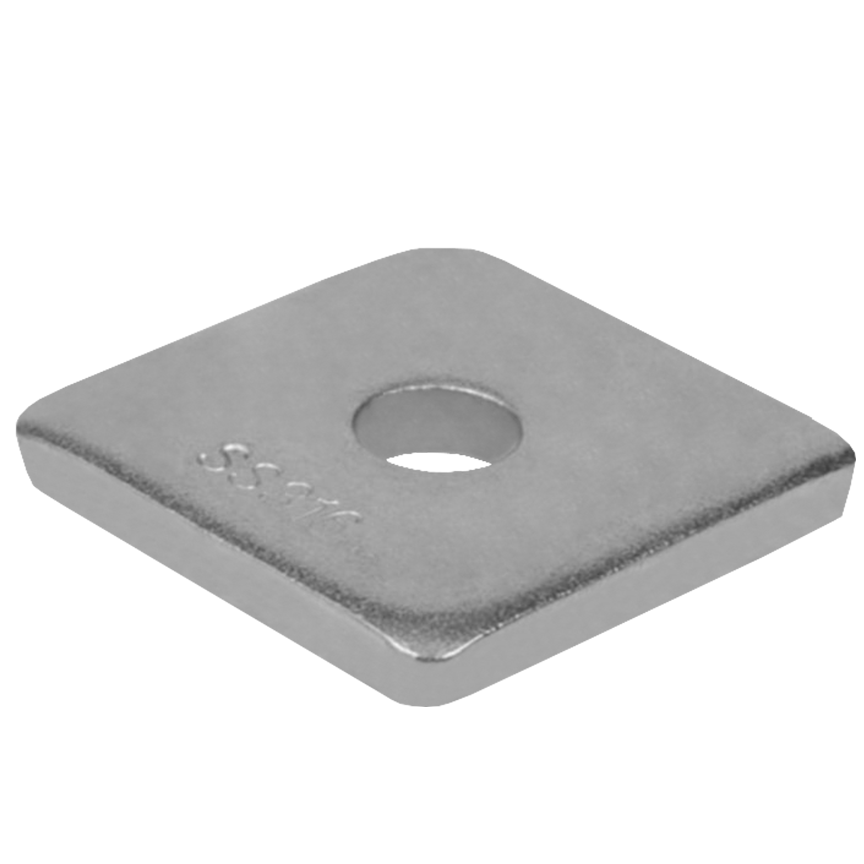 Square Cable Clamp Washers