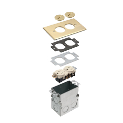 Floor Box Outlet Assemblies