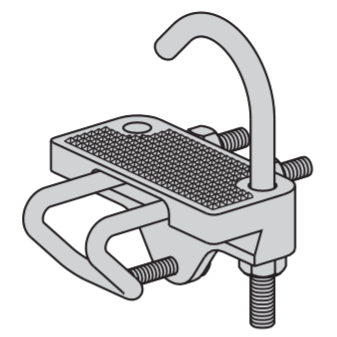 Conduit to Tray Clamps