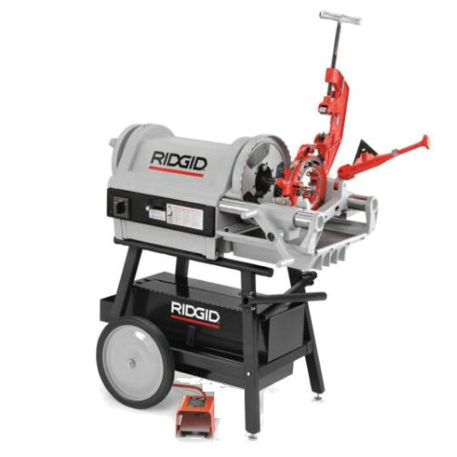 Elec. Pipe Threading & Cutting Machines
