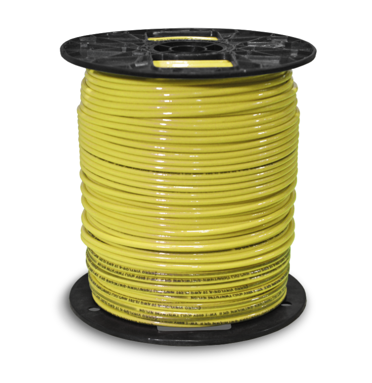 THHN_10awg_500ft_Yellow